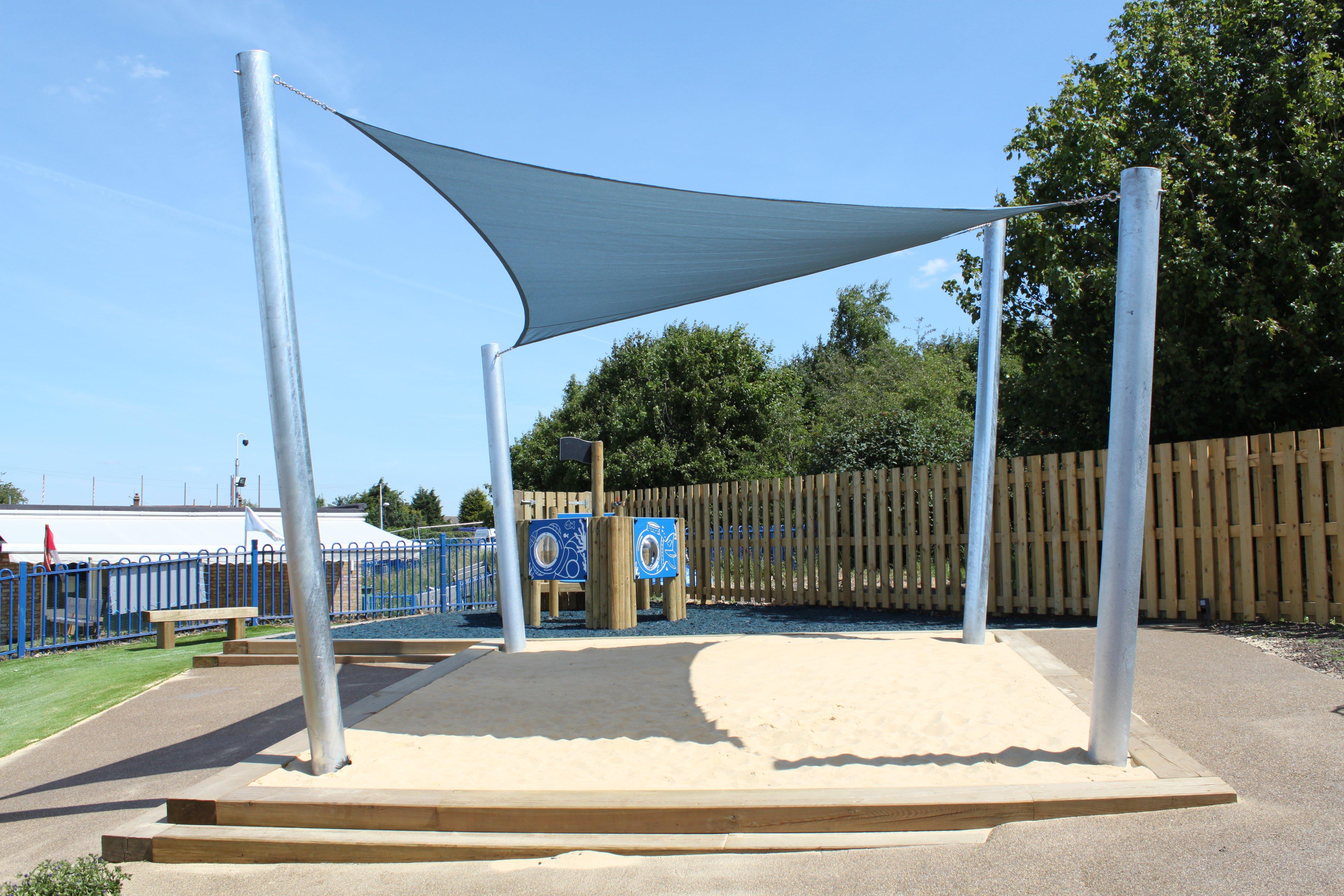 Sand and Water Play, Playground
