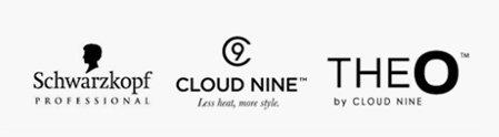 THEO CLOUD NINE Schwarzkopf logos