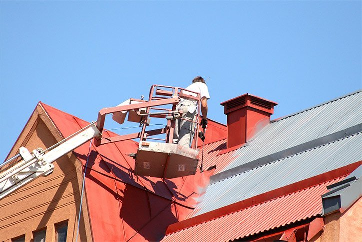 Industrial Roof Painting