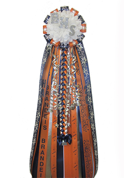 Brandeis Homecoming Mum