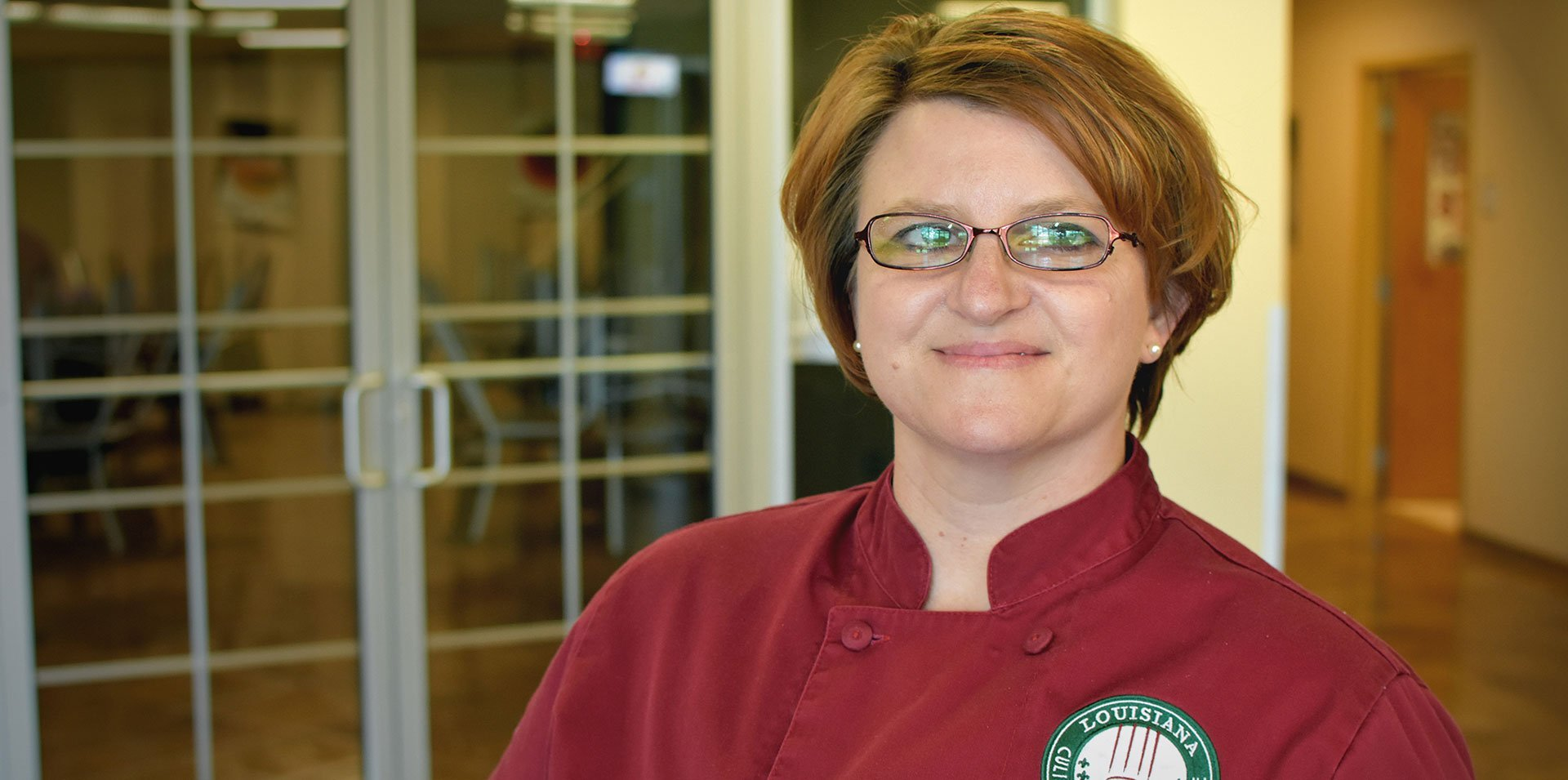 Nicole Biddy Pantry Chef at Louisiana Culinary Institute