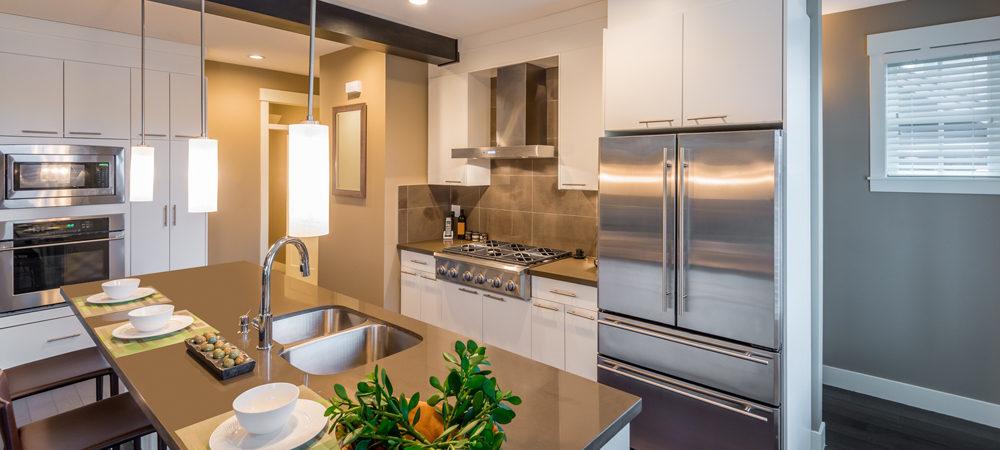 Kitchen appliances installed by the experts