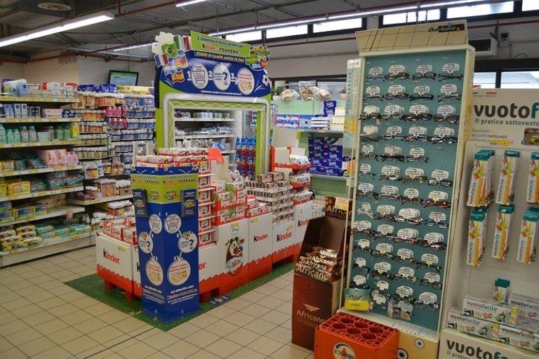 reparti supermercato
