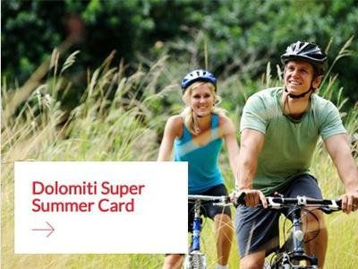 Dolomites Summer Card