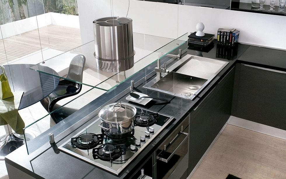 Cucine Componibili Aosta.Cucine Moderne Aosta Spazio 2000 Designer
