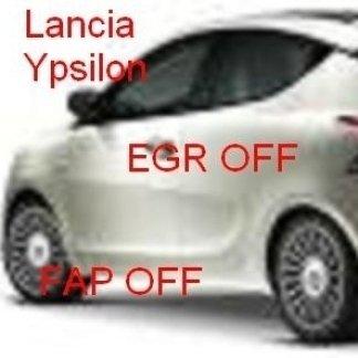 lancia ypsilon 1.3 mjt egr off fap off tecnauto palermo rimappatura centralina auto