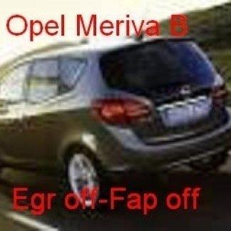 opel meriva b 1.3 cdti 1.7 cdti egr off fp off tecnauto palermo rimappatura centralina auto