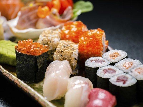 vassoio mix di sushi