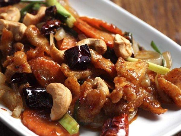 piatto di pollo agrodolce