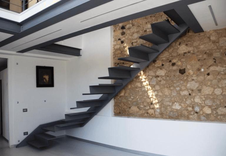 Scale interne ferro e legno ns77 regardsdefemmes - Scale interno casa ...