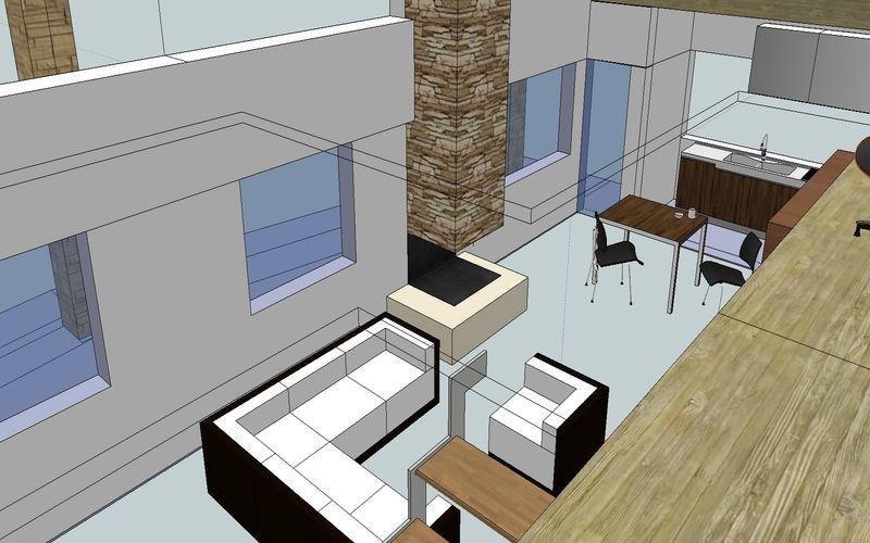 Progettazione salotto
