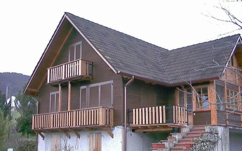 Tetti, scale esterne e balconate