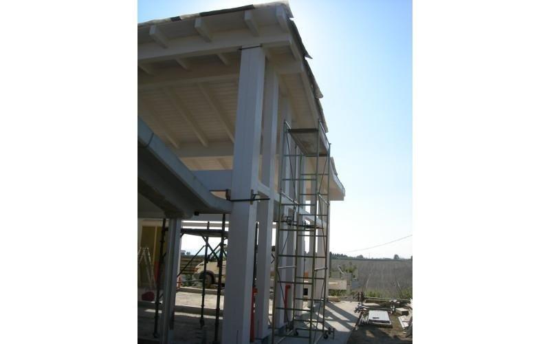 Strutture verticali e copertura
