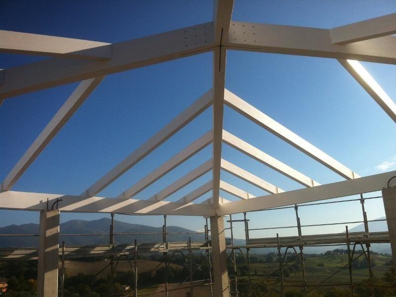 Realizzazione struttura tetto