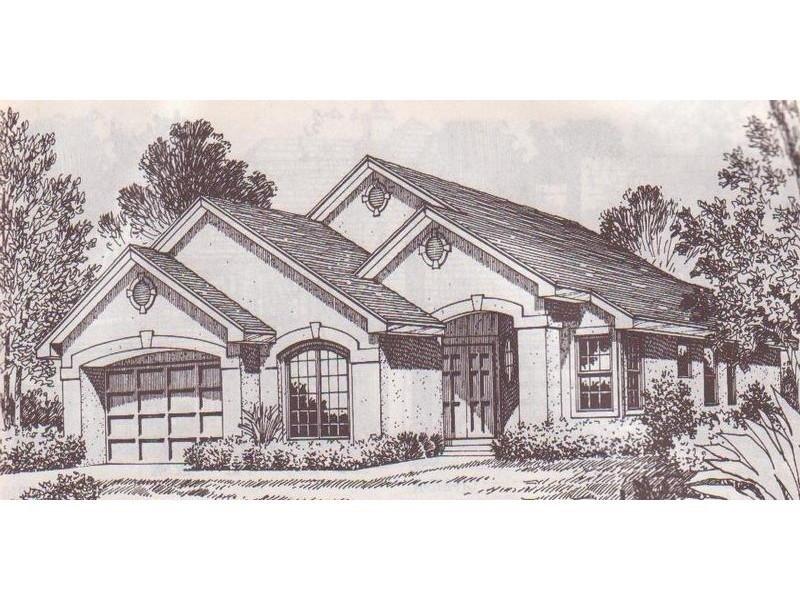 Progetto di villa con più ingressi