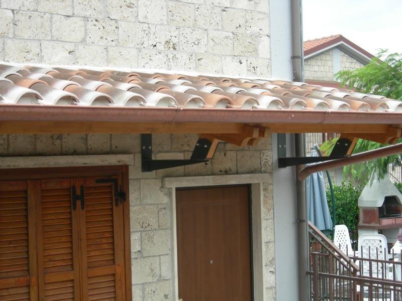 Installazione tettoia