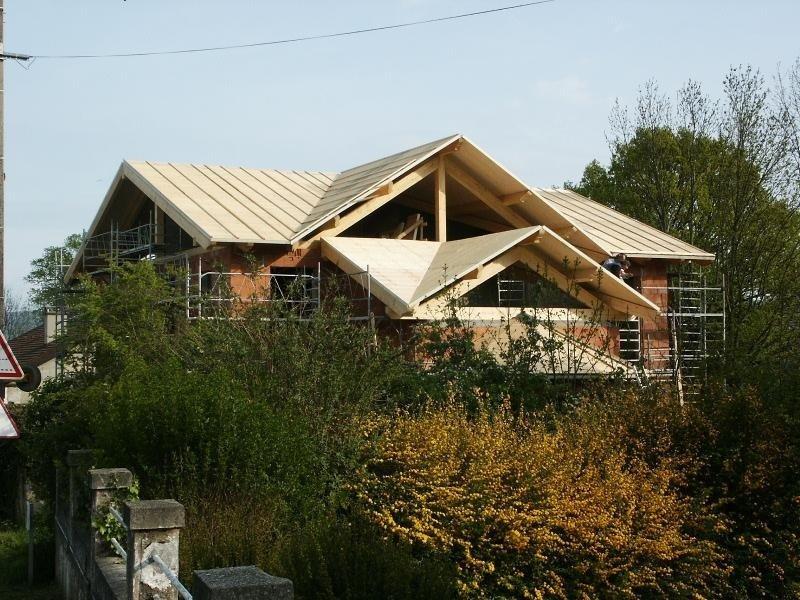 Tetto per abitazione dal design tradizionale