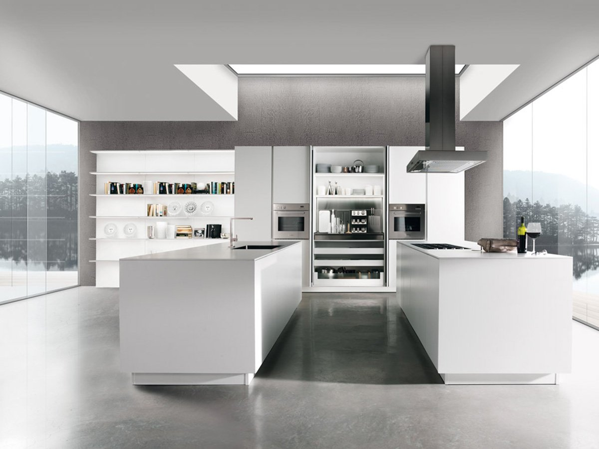 Cucina in linea moderna