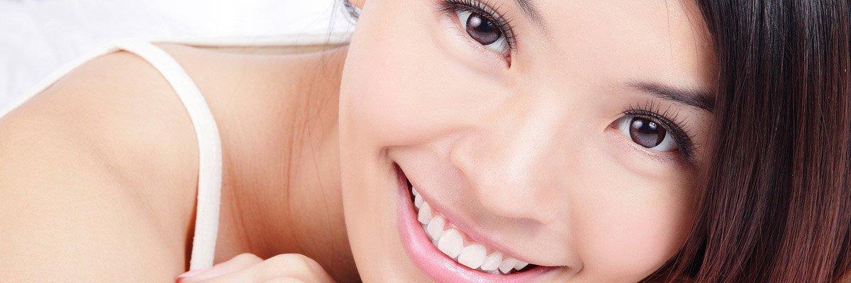 dental essentials lady smile