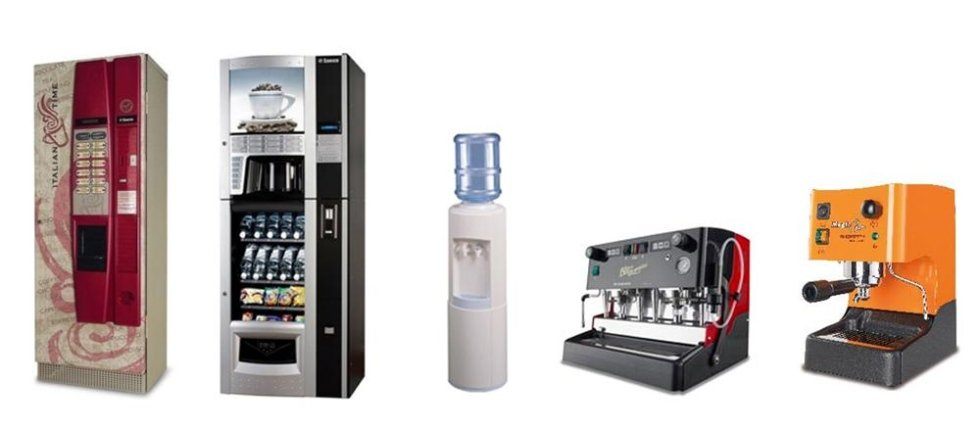 Distributori automatici e macchine caffè