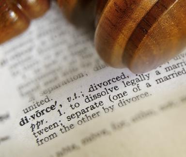 Divorce definition in legal book