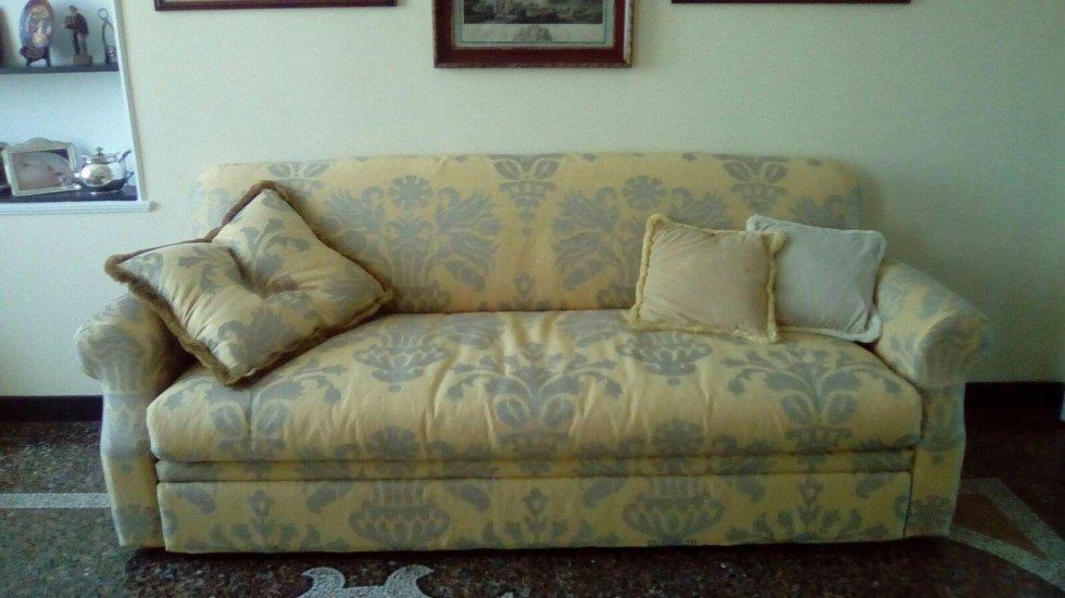 rivestimento divano in lino