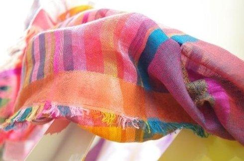 sciarpa in lino