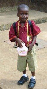 Joshua Raymond Shockley 1st day in school