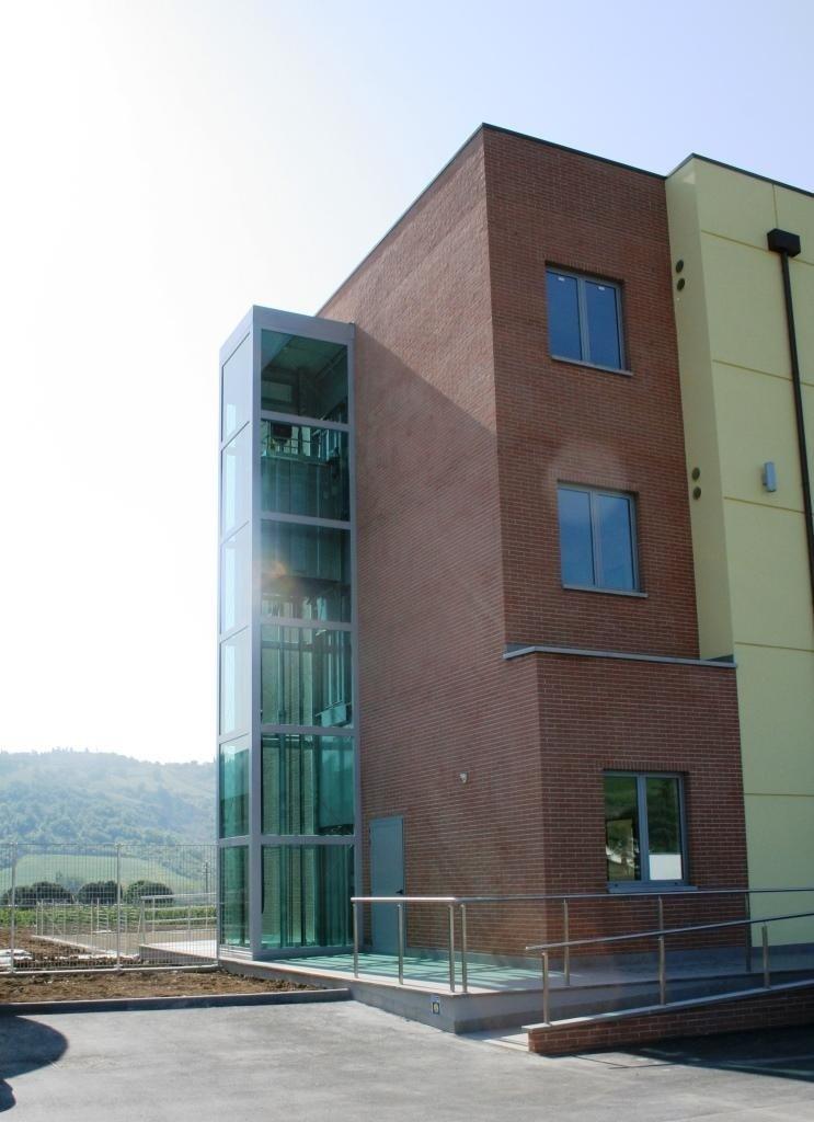 struttura metallica per palazzo