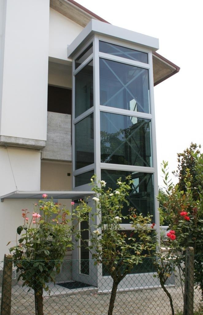 struttura metallica per casa