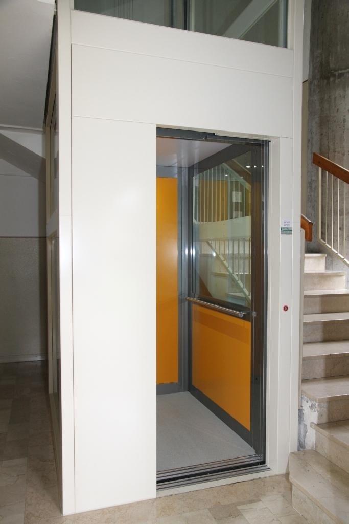 struttura metallica per interno palazzina