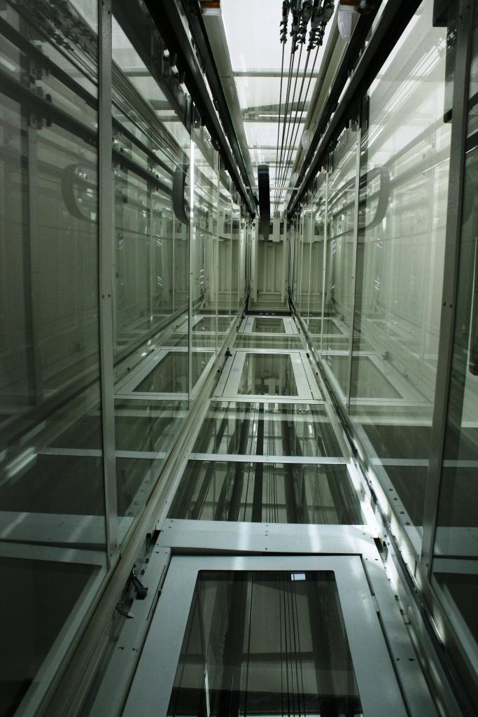 interno struttura metallica