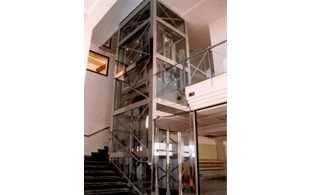 strutture metalliche tra piani