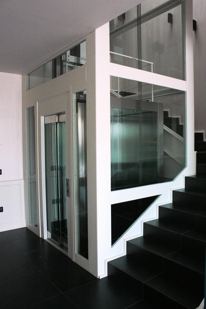 struttura metallica interna per abitazione