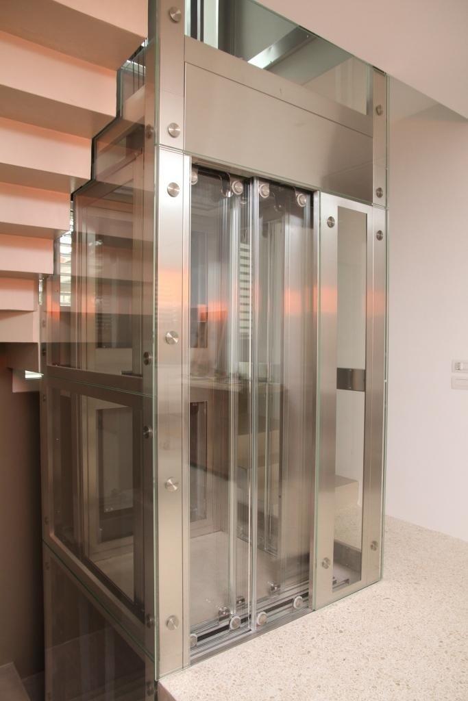 struttura metallica in alluminio