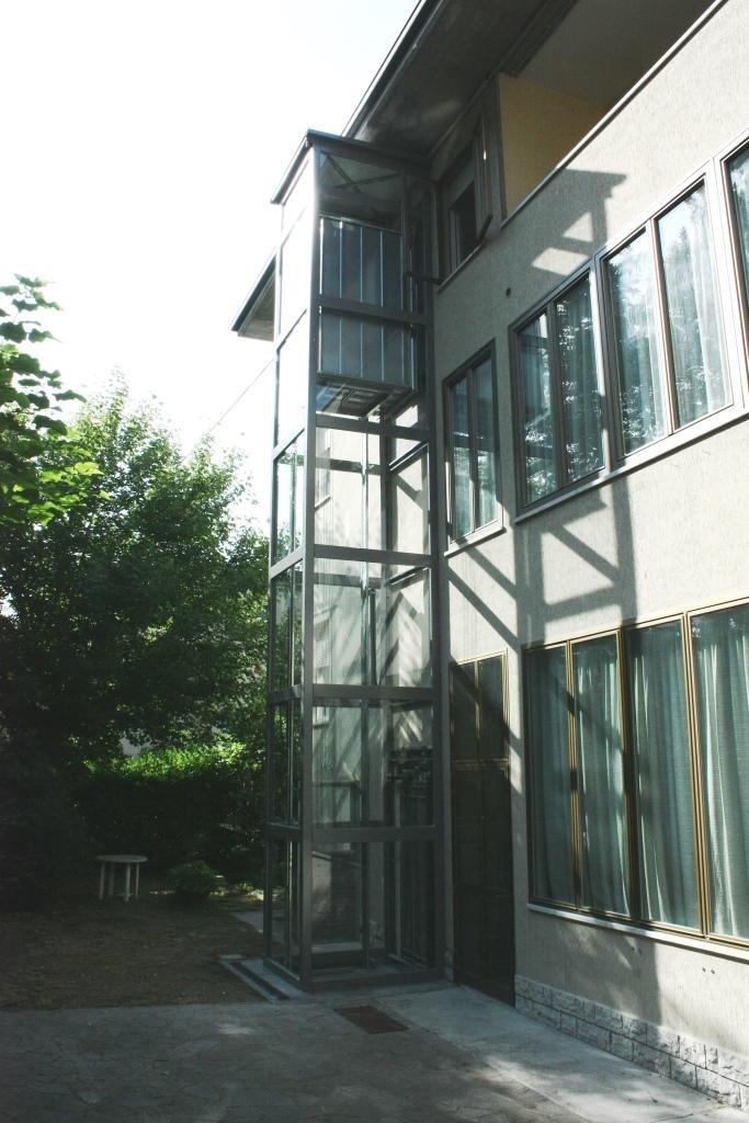 struttura metallica esterno palazzini