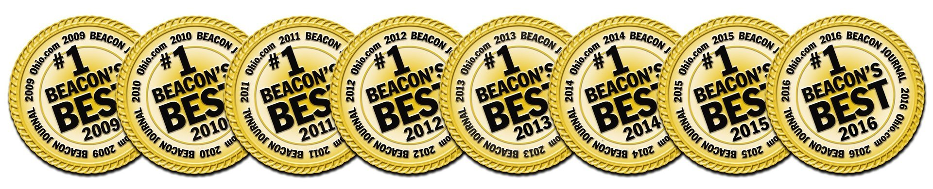 Akron Beacon Journal Beacon's Best Dentist 8 Years in a Row