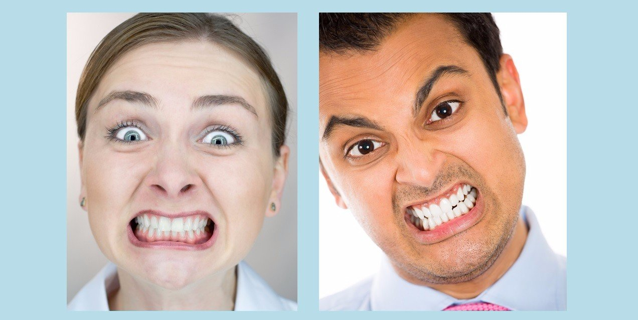bruxism habit of grinding or clenching teeth
