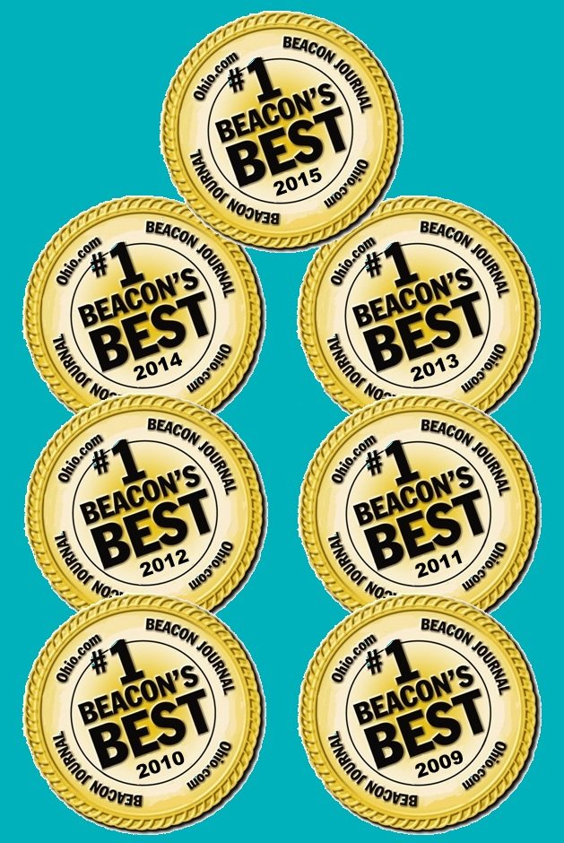 Akron beacon Journal Beacon's Best Dentist 7 Years Straight