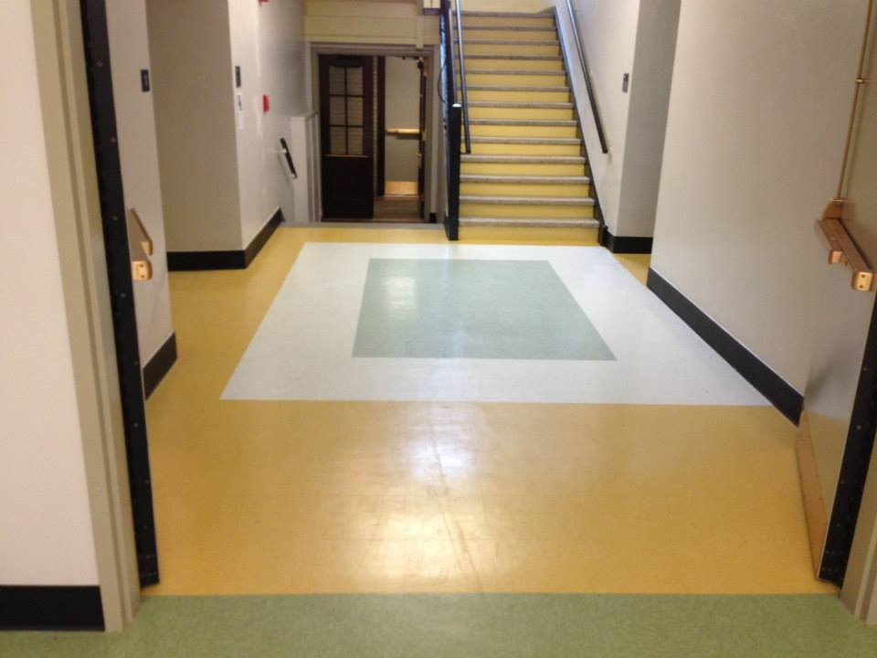 Buffalo Public School #64 commercial flooring - Buffalo, NY