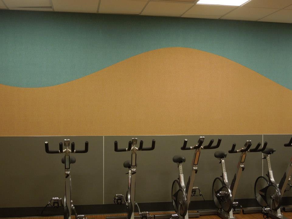 ECMC Employee Fitness Center Flooring - Buffalo, NY