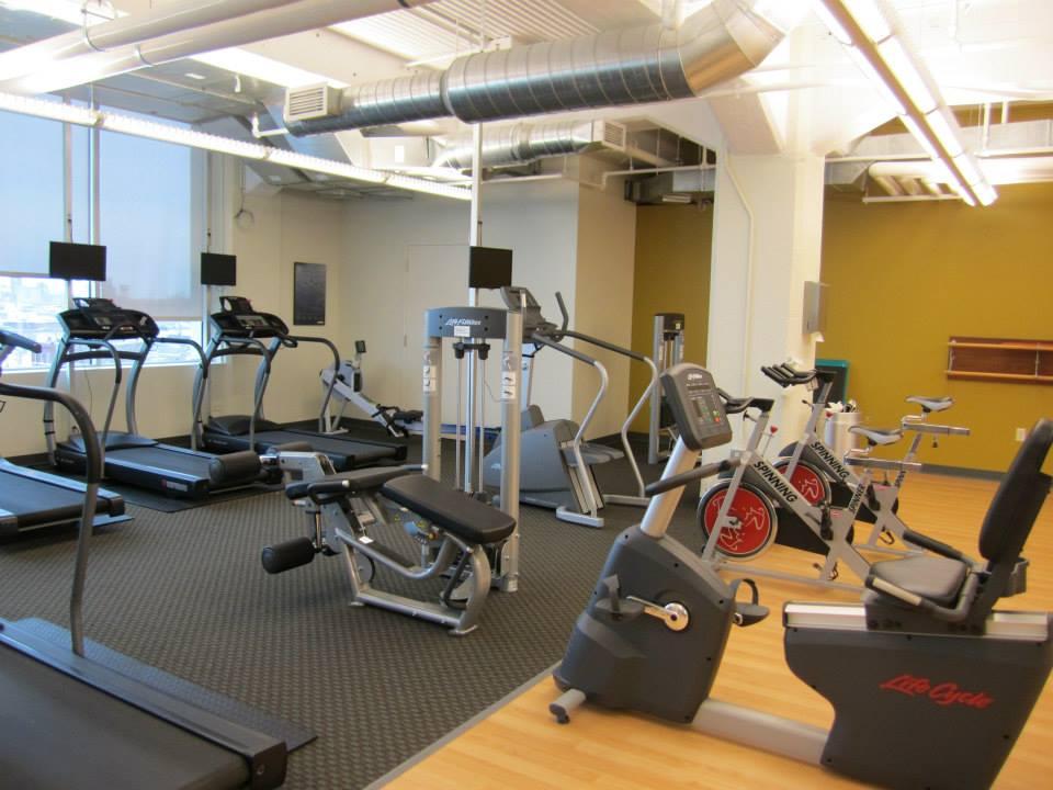 Hubbard Fitness Center flooring project - Buffalo, NY