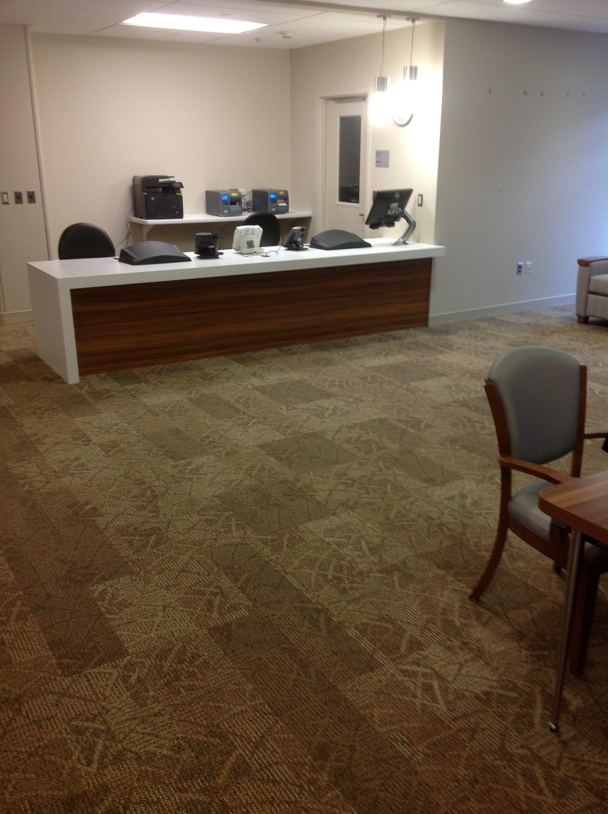 carpet tile installation in Buffalo, NY