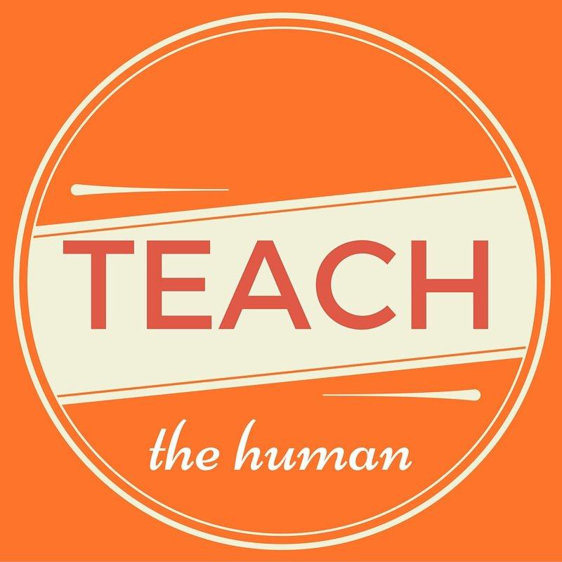 Teach the human Title