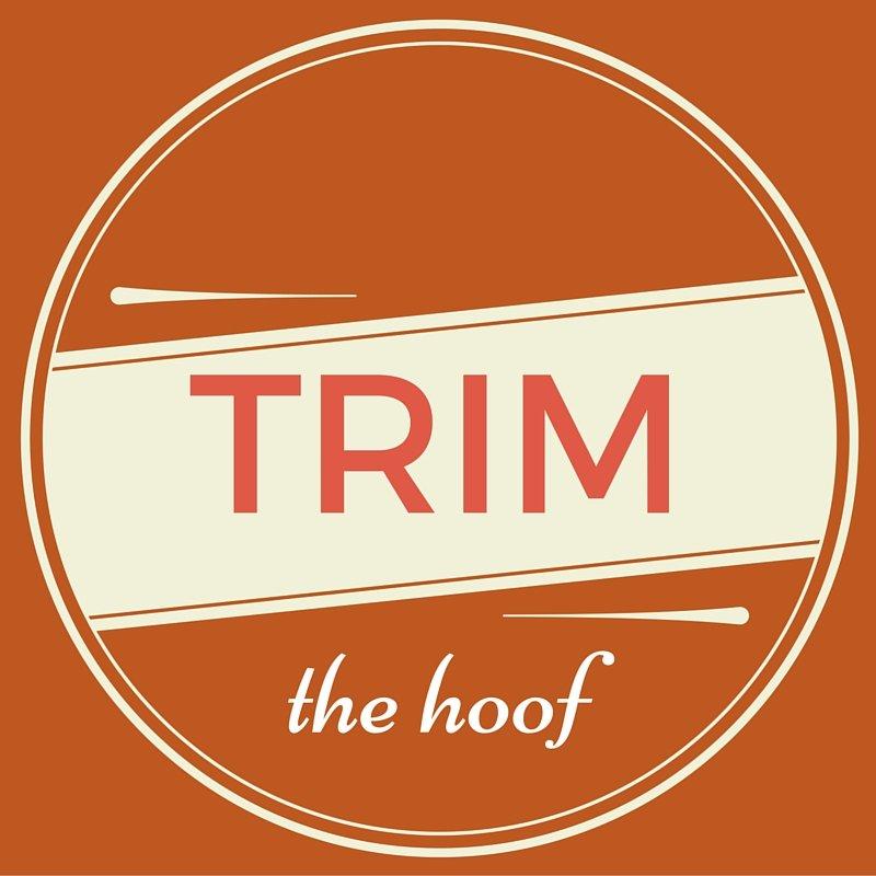 Trim the Hoof Title
