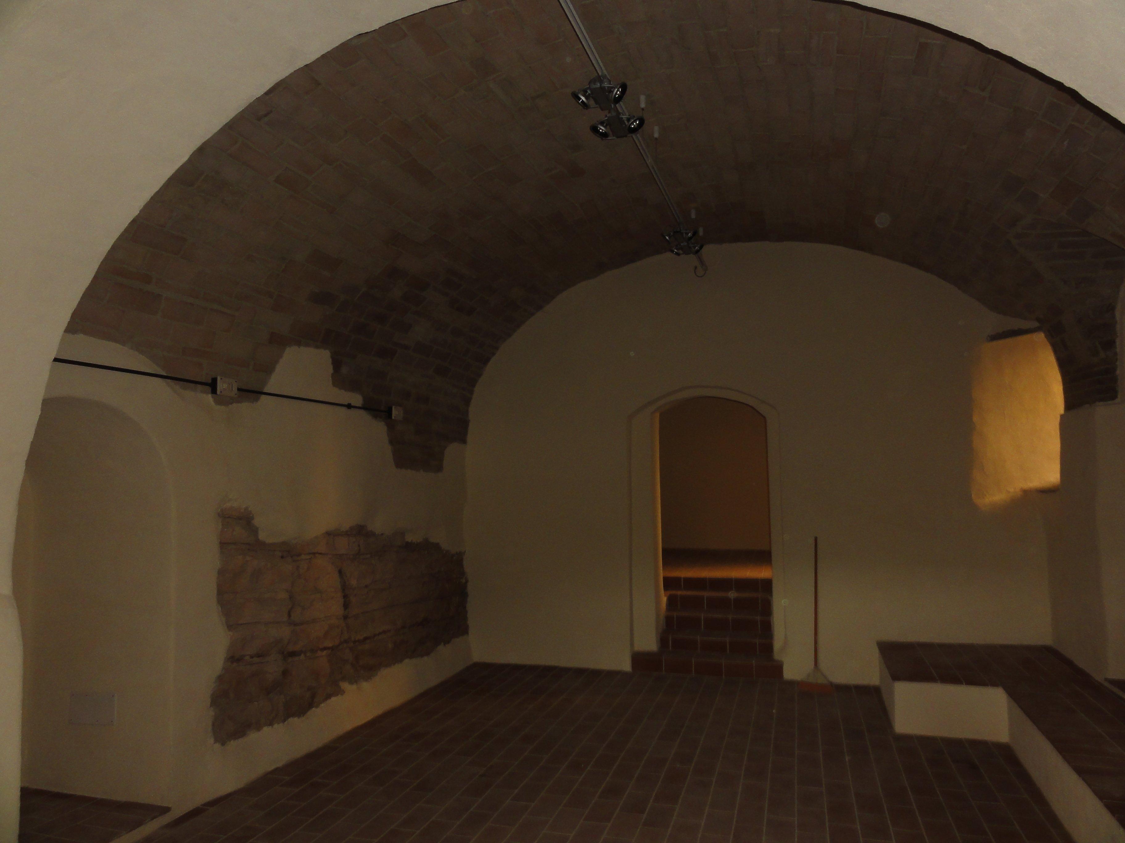 centro termale in marmo e mattoni