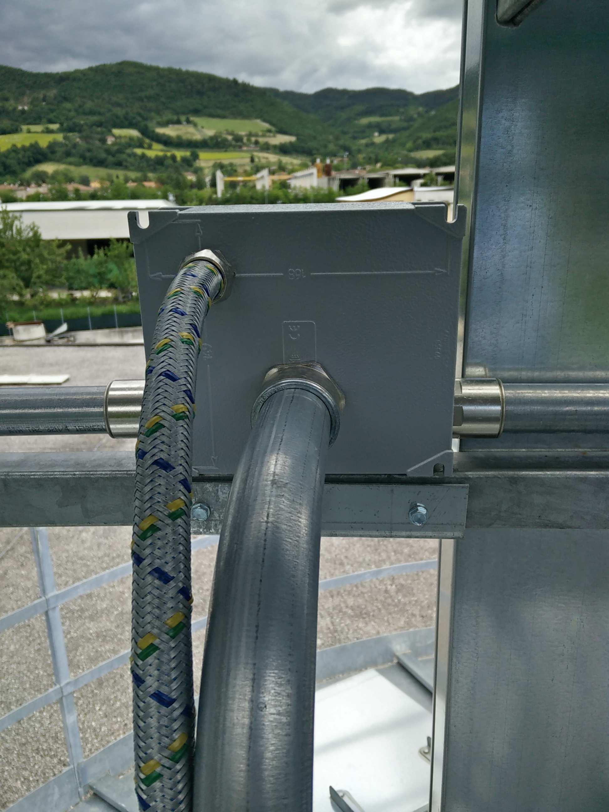 cavo per ascensore, costruzione industriale