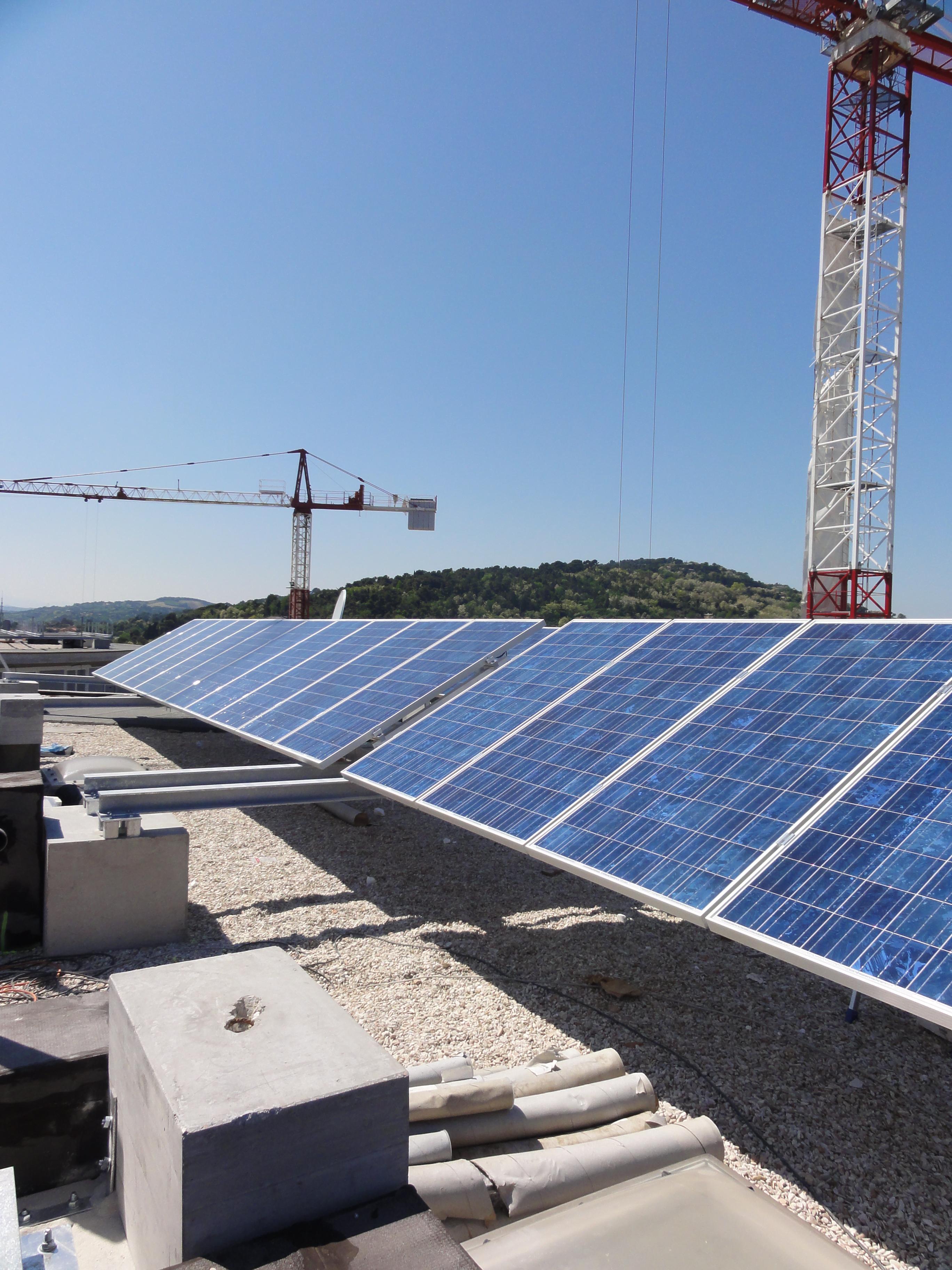 costruzione produzione elettrica ad Urbino