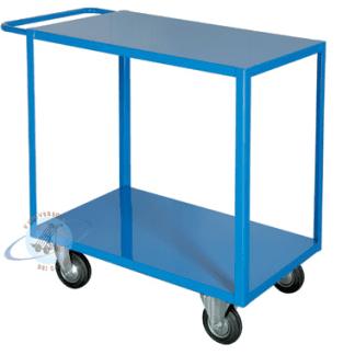 carrellino azzurro