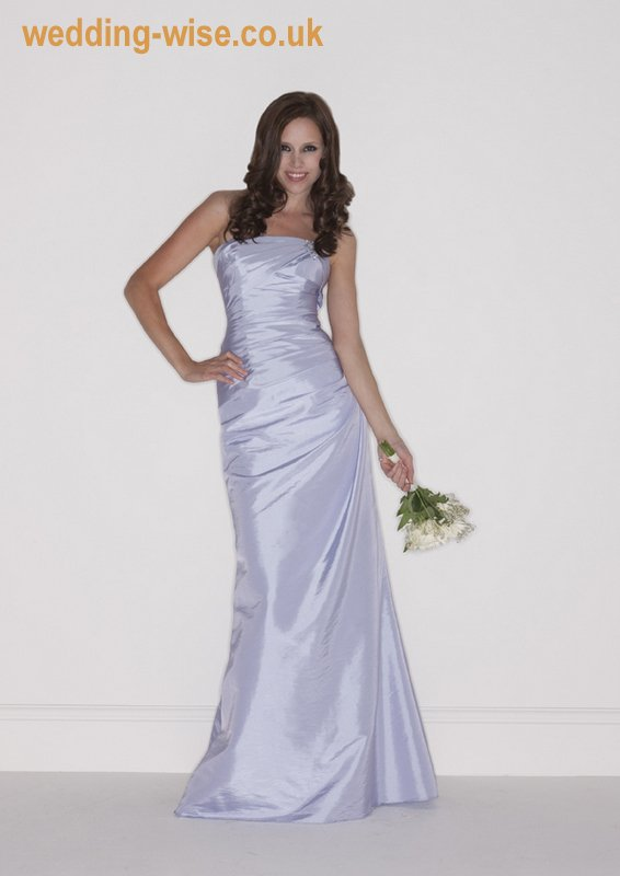 ciel taffeta bridesmaid